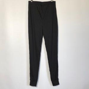 Black Boho high wasted leggings